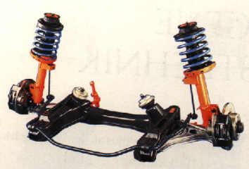 передняя подвеска опель омега а 1988 выпуска